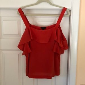 JCREW COLD SHOULDER BLOUSE
